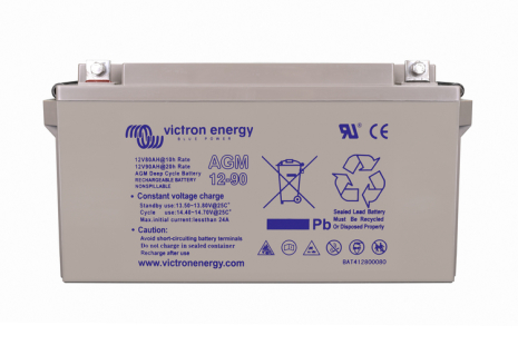 Victron 12V/90Ah AGM Deep Cycle Batt.