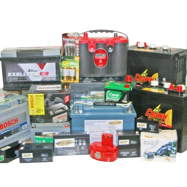 Batterier (Alla)