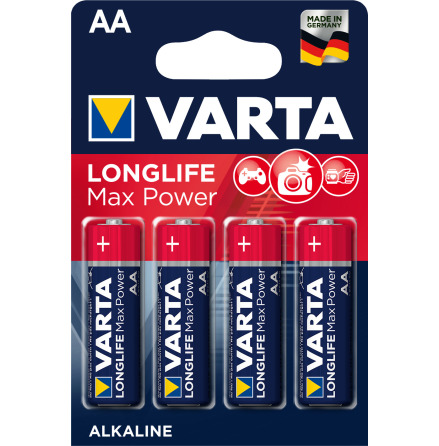 VARTA LONGLIFE Max Power AA/LR6 4-PACK