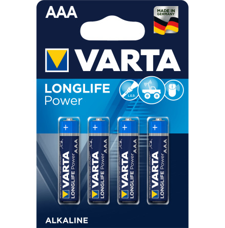 VARTA LONGLIFE Power AAA/LR03 4-PACK