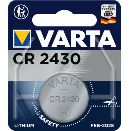 VARTA ELECTRONICS CR2430