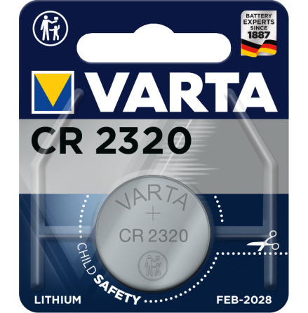 VARTA ELECTRONICS CR2320