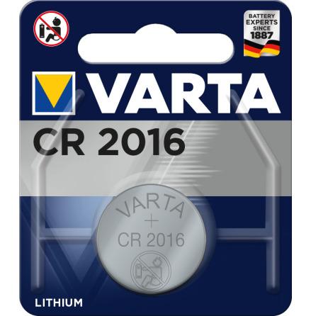 VARTA ELECTRONICS CR2016