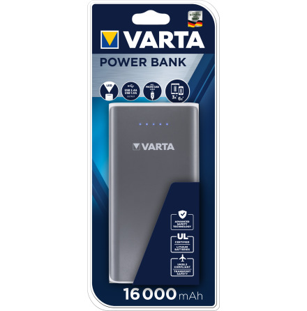 VARTA PORTABLE POWER 16000 mAh Power Bank
