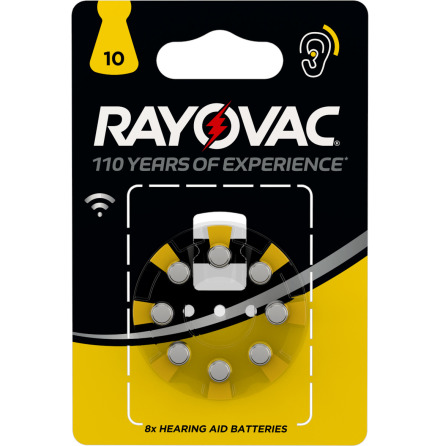 RAYOVAC ACOUSTIC SPECIAL 10 8-PACK