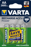 VARTA RECHARGE ACCU POWER R2U AA 2600mAh 4-PACK