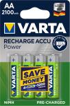 VARTA ACCU POWER R2U AA 2100mAh 4-PACK