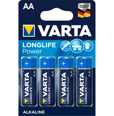 VARTA LONGLIFE Power AA/LR6 4-PACK
