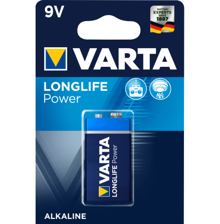 VARTA LONGLIFE Power 9V/6LR61 1-PACK