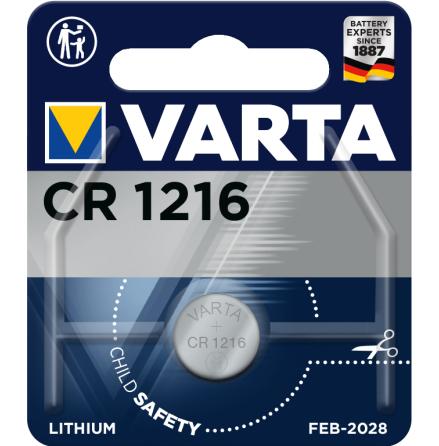 VARTA ELECTRONICS CR1216