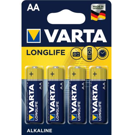 VARTA LONGLIFE AA/LR06 4-PACK