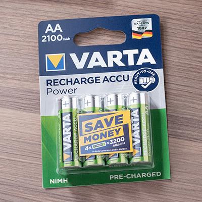 Varta - Uppladningsbara Batterier