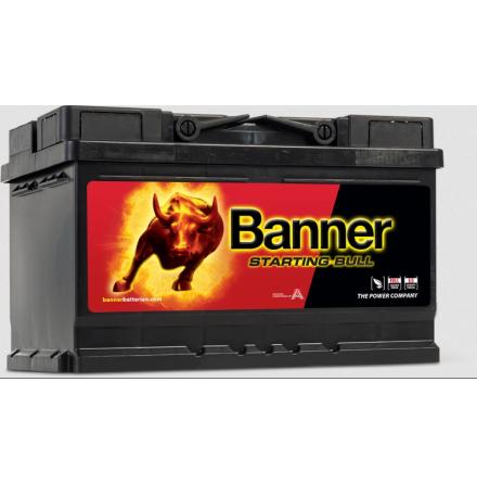 Bilbatteri 12V 70Ah Banner Starting Bull 57044 LxBxH:278x175x175mm
