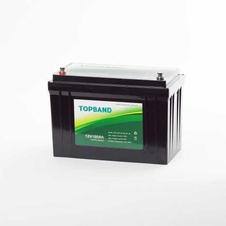 TOPBAND LITHIUM 12V 100AH Bluetooth