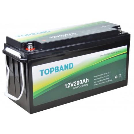 Topband Litium 12V 200Ah