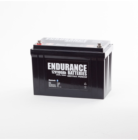 Endurance Litium 12V 100Ah Heat