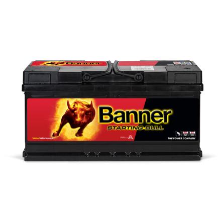 Bilbatteri 12v 88Ah Banner Starting Bull 58820
