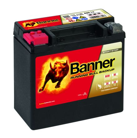 Banner Running Bull BackUp - 514 00 / AUX 14
