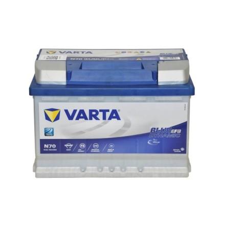 Varta Blue Dynamic EFB 12v 70Ah N70