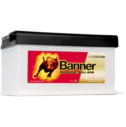 Banner Running Bull -EFB 12v 80Ah