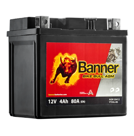 Banner Mc Batteri AGM YTX5L-BS 12V 4Ah