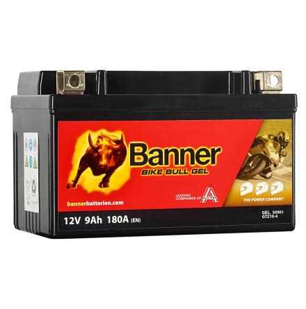 Banner Bike Bull AGM PRO ETX 9 12V 8Ah