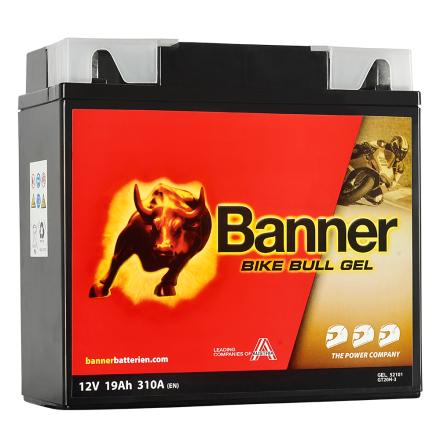 Banner Bike Bull GEL GT20H-3 12V 19Ah