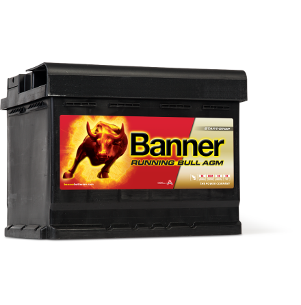 Banner Running Bull -AGM 12v 60Ah