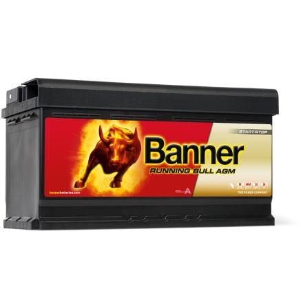 Banner Running Bull -AGM 12v 92Ah