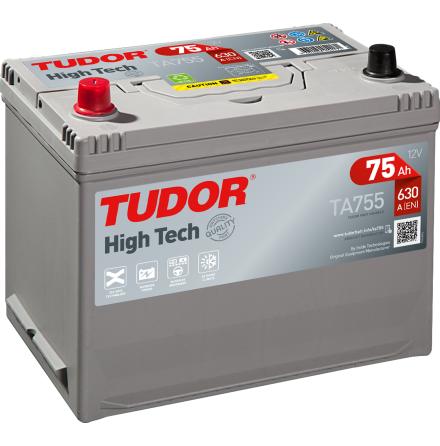 Startbatteri Tudor 12V/75Ah---