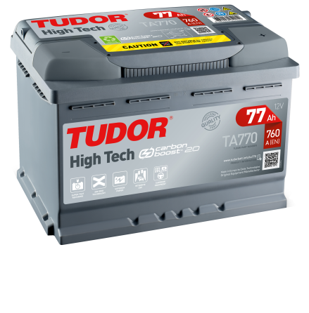 Startbatteri Tudor 12V/77Ah