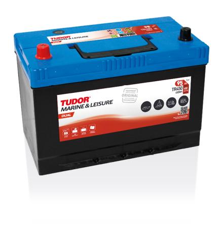 Tudor fritidsbatteri 12V/95Ah---