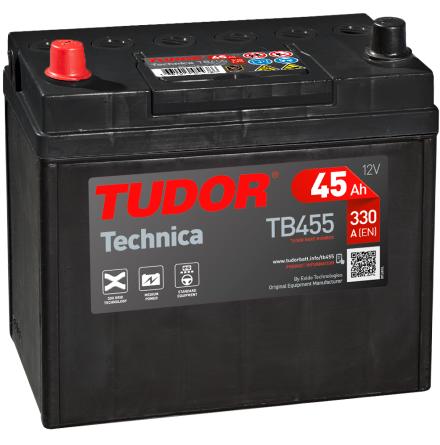 Startbatteri Tudor Technica 12V/45Ah---