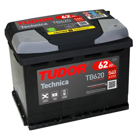 Startbatteri Tudor Technica 12V/62Ah