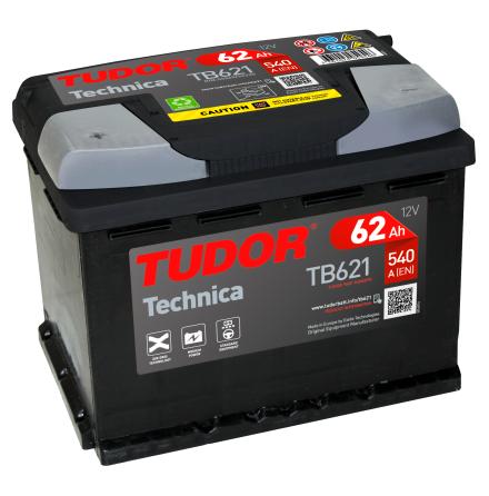 Startbatteri 62Ah Tudor Exide TB621