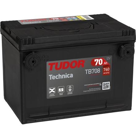 Batteri Tudor/Exide USA 12V/70Ah---