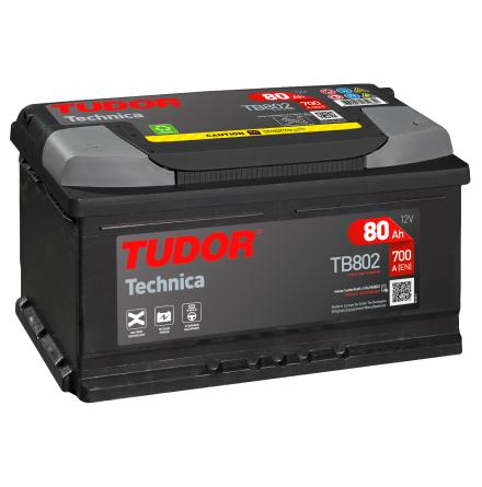 Startbatteri Tudor 12V/80Ah