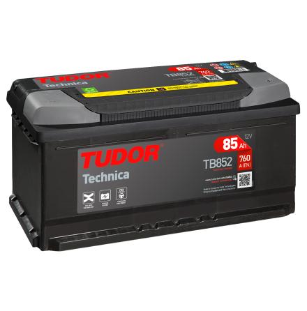 Startbatteri 85Ah Tudor Exide TB852 Technica