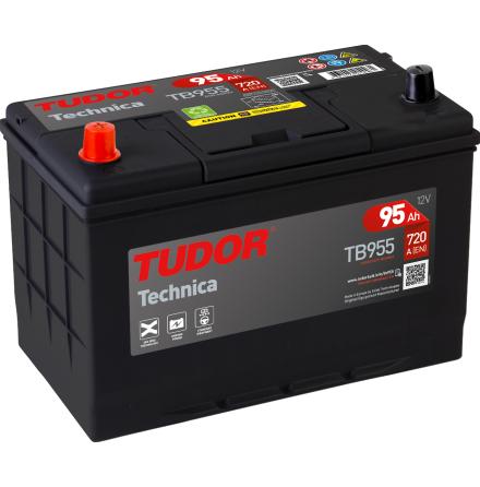 Startbatteri 95Ah Tudor Exide TB955 Technica----.