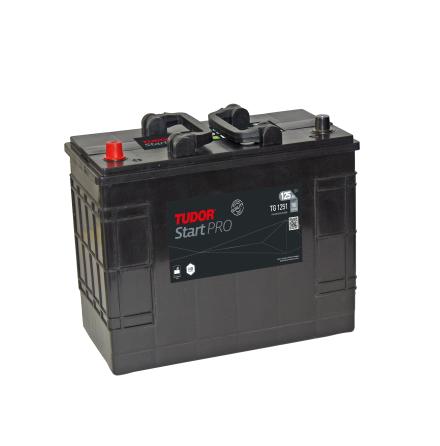 Startbatteri 125Ah Tudor Exide TG 1251Professional