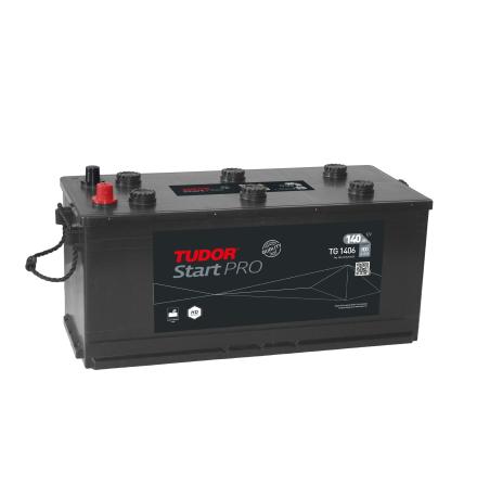 STARTbatteri 12V 140 Ah Tudor Exide TG1406
