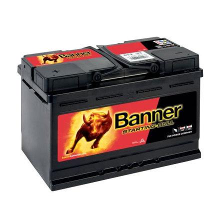 Banner Leisure Fritidsbatteri 12v 75Ah 640CCA