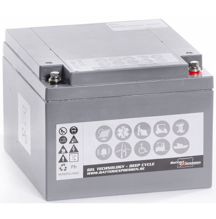 GEL Batteri 12V 25Ah