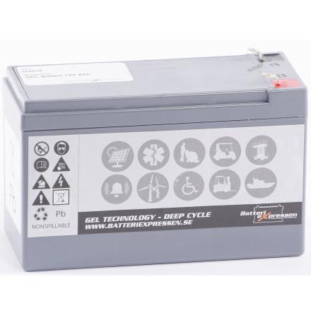 GEL Batteri 12V 8Ah