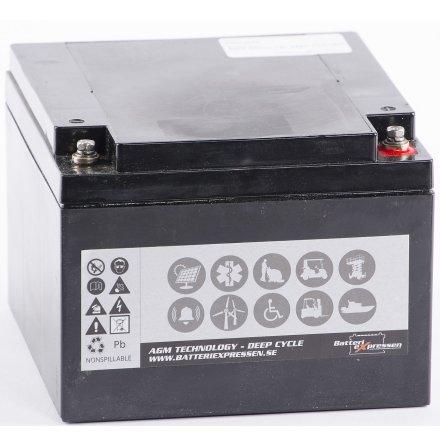 AGM Batteri 12V 34Ah CCA188A