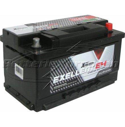 Billigt bilbatteri 12V 80Ah LxBxH:310x175x175mm ExtremeExcellent(USA)DIN:580406074