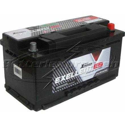 Billigt bilbatteri 12V 100Ah Extreme(USA) LxBxH:353x175x175mm DIN:595402080