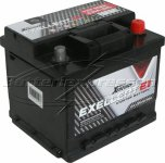 Bilbatteri 12V 50Ah LxBxH:207x175x175mm (Amerikanska)-Extreme Excellent