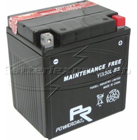 MC-batteri AGM 28 Ah YTX30-L Extreme Poweroad SP6 lxbxh=168x127x177mm