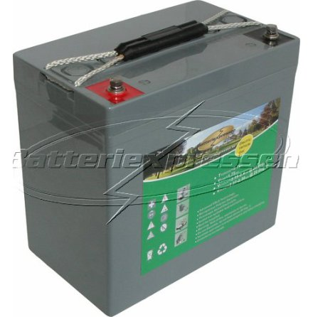 GEL 12 V 59 Ah Batteri
